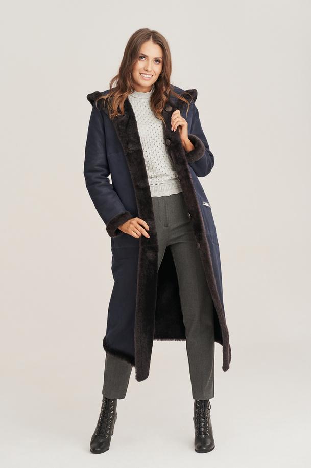 Dámský kožešinový kabát jehnětina oboustranná - Dámský kožich