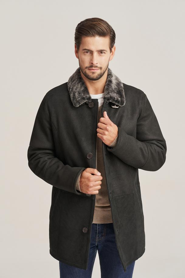 Pánský zimní kabát  - Kožich pánský