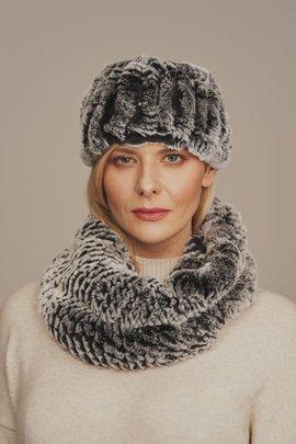 Women's winter fur headband