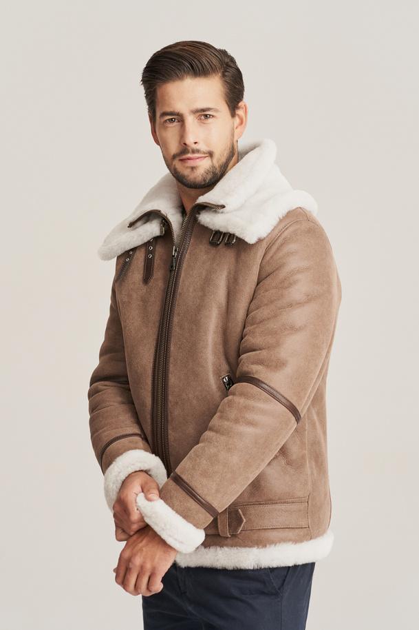 Men's winter pilot jacket